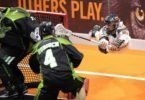 Saskatchewan Rush New England Black Wolves NLL 2016 Photo: Khoi Ton