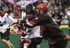 Calgary Roughnecks Vancouver Stealth NLL 2016 Photo: Candice Ward
