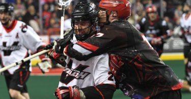 Calgary Roughnecks Vancouver Stealth NLL 2016 Photo: Candice Ward