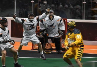 New England Black Wolves Georgia SwarmNLL Photo: Ryan Conwell