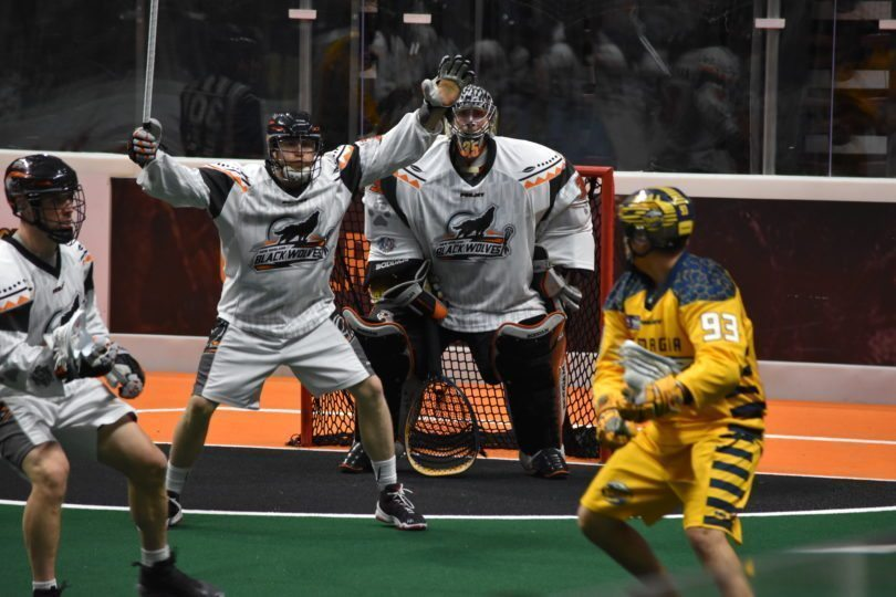 New England Black Wolves Georgia SwarmNLL Photo: Ryan Conwell