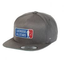 Lacrosse All Stars Traditional Hat - GREY