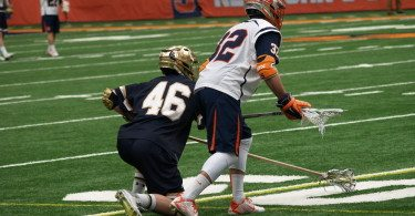 syracuse notre dame lacrosse burning april lacrosse