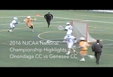 2016 NJCAA National Championship Highlights