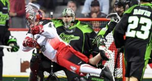 Calgary Roughnecks Saskatchewan Rush NLL 2016 Photo: Candice Ward