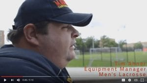 Tim Ahner - Head of Maryland Lacrosse Equipment Managers