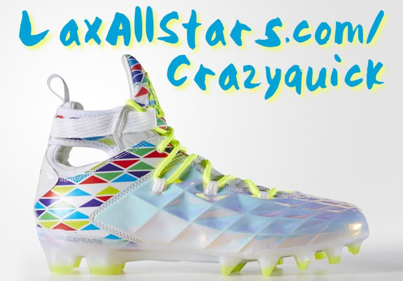 Adidast Crazyquick Lacrosse Cleats
