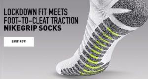Nike grip socks