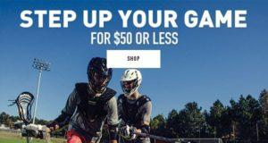 Shop Lacrosse Equipment $50 or less