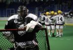 Orangeville Northmen vs Coquitlam Adanacs Minto Cup 2016 Photo: Canadian Lacrosse Association