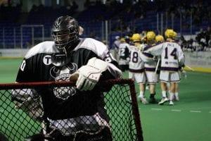 Orangeville Northmen vs Coquitlam Adanacs Minto Cup 2016 Photo: Canadian Lacrosse Association