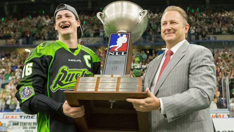 Nick Sakiewicz Chris Corbeil NLL Josh Schaefer Saskatchewan Rush